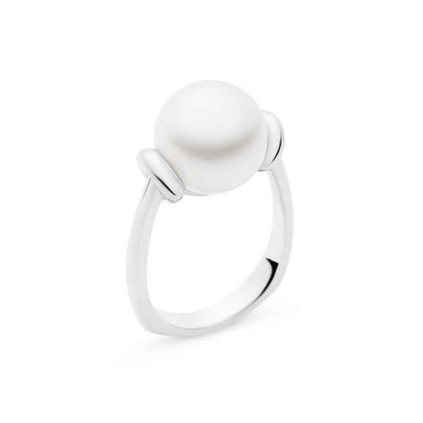 Kailis Tranquility Pearl Ring 18ct White Gold