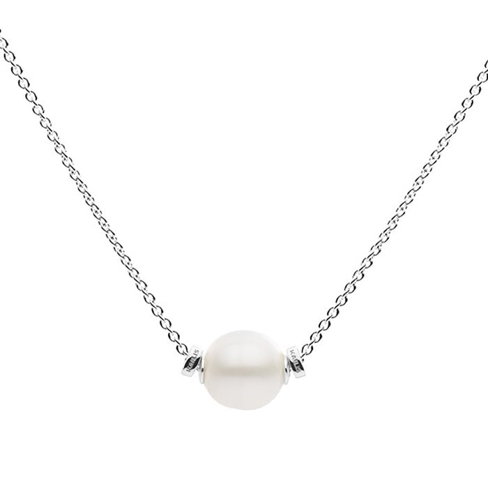 Kailis Sliding Pearl Necklace Sterling Silver