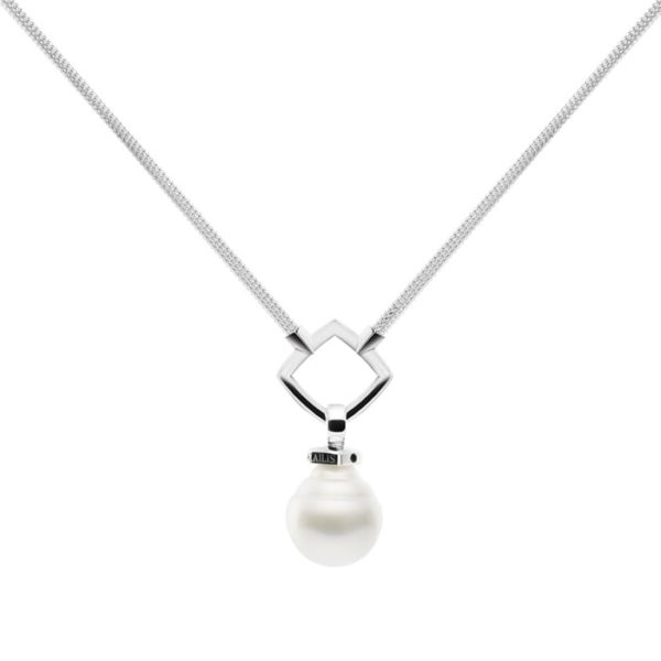 Kailis Lasso Pearl Necklace, Sterling Silver