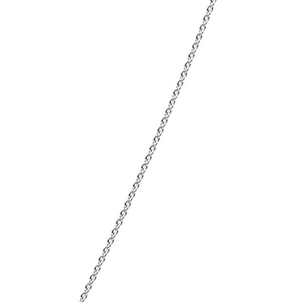 Kailis Single Trace Chain in 18ct White Gold