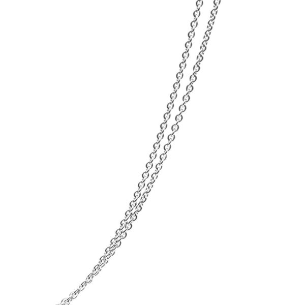 Kailis Double Trace Chain 18ct White Gold