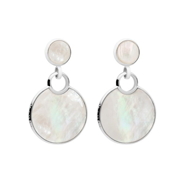 Kailis Mother of Pearl Reflection Drop Earrings