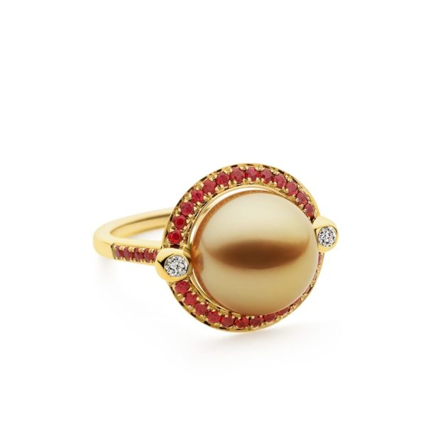 Kailis Divine Ruby Ring 18ct Yellow Gold