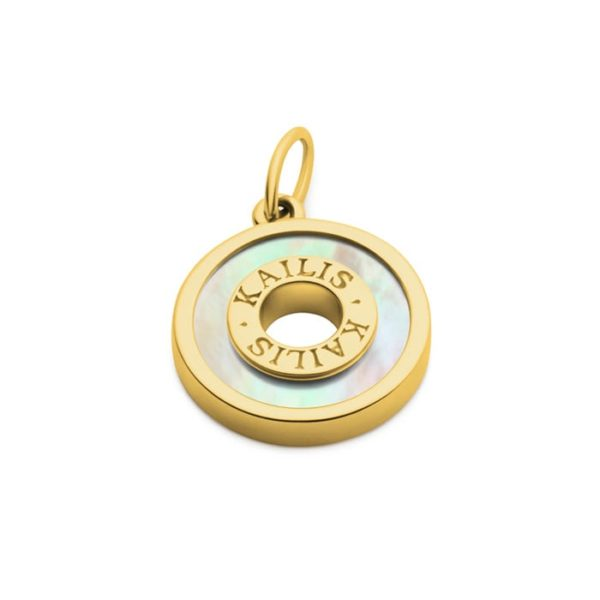 Kailis Mother of Pearl Charm 18ct Gold