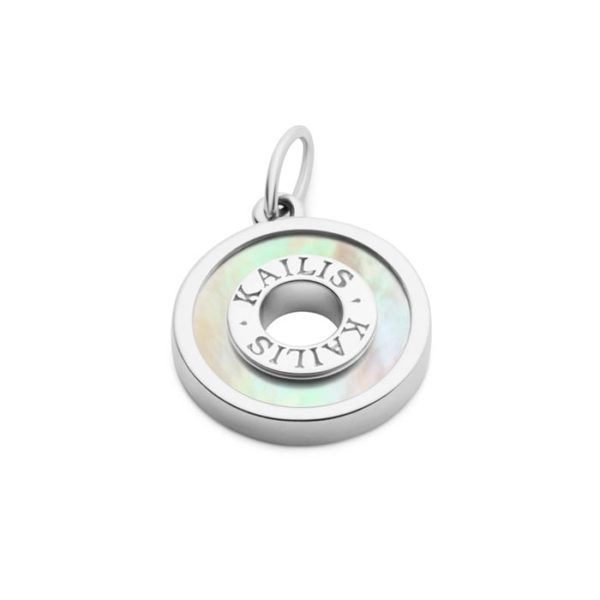 Kailis Mother of Pearl Charm in 18ct White Gold