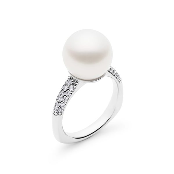 Kailis Hope Pearl Diamond Ring in 18ct White Gold