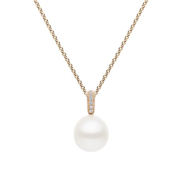 Kailis Hope Pearl Diamond Pendant in 18ct Rose Gold