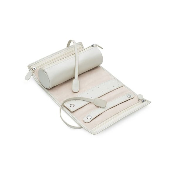 Kailis Travel Jewellery Roll in Luxurious Leather Open