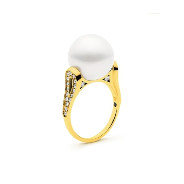 Kailis Ballerina Pearl Ring, 18ct Gold