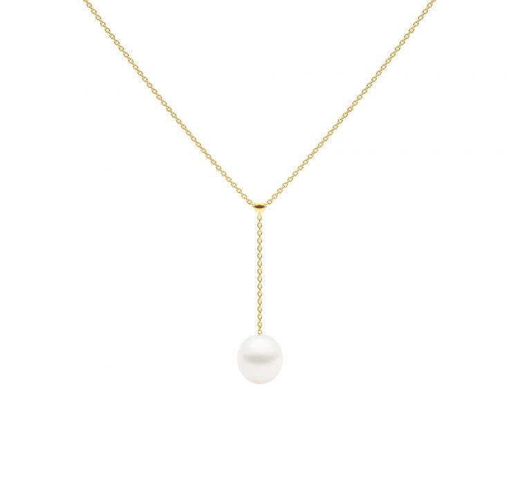 Negligee Necklace, Yellow Gold-5369