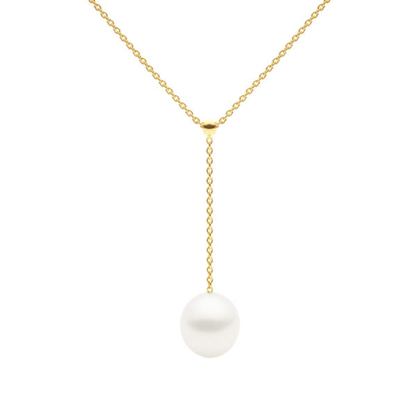 Negligee Necklace, Yellow Gold-0