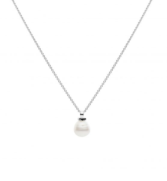 Geometric Pearl Necklace -5406