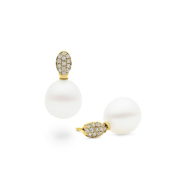 Galene Earrings, Yellow Gold-0