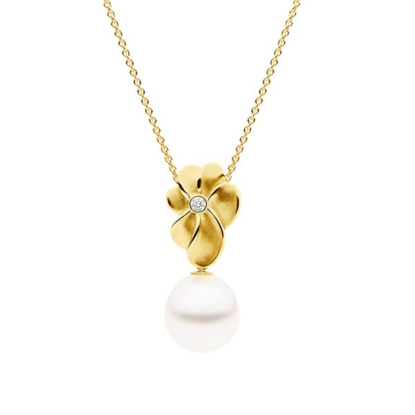 Bloom Pendant Yellow Gold